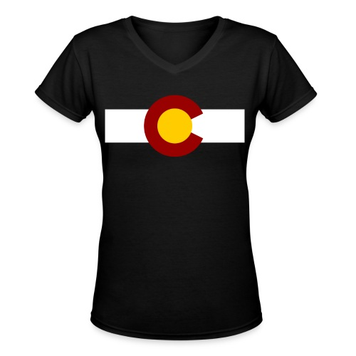 Vintage Colorado - Women's V-Neck T-Shirt