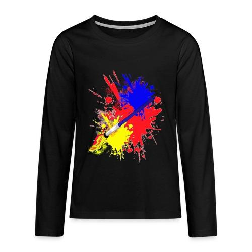 Artist - Kids' Premium Long Sleeve T-Shirt