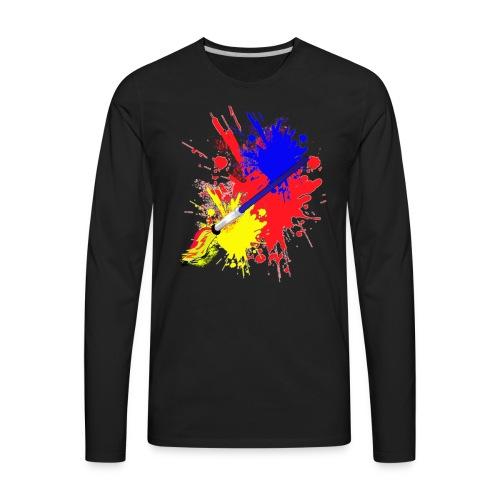 Artist - Men's Premium Long Sleeve T-Shirt