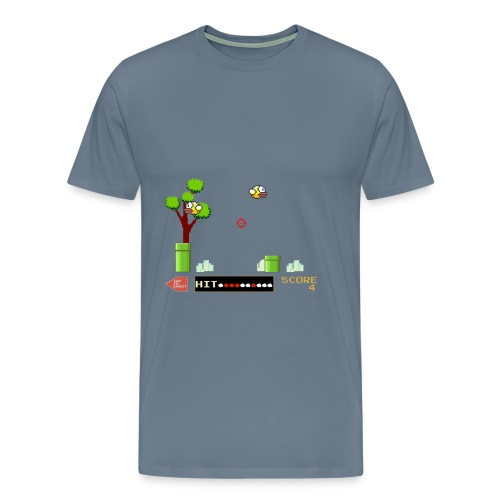 Flappy Hunt - Men's Premium T-Shirt