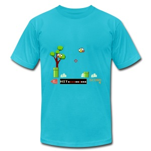Flappy Hunt - Men's Fine Jersey T-Shirt