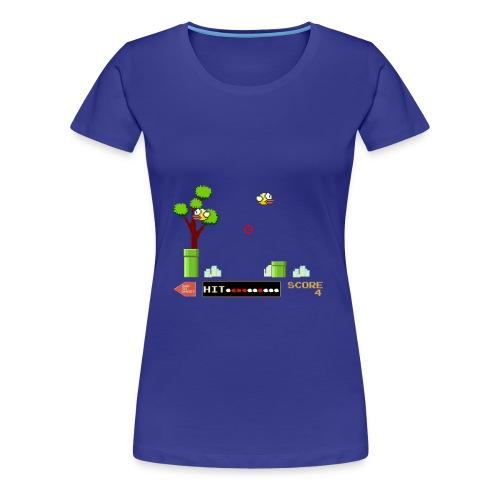 Flappy Hunt - Women's Premium T-Shirt