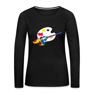 Artist - Women's Premium Long Sleeve T-Shirt