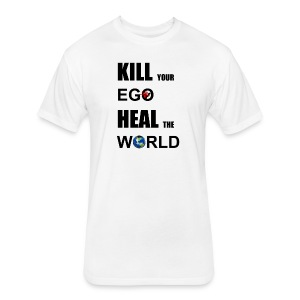 Kill Your Ego - Fitted Cotton/Poly T-Shirt by Next Level