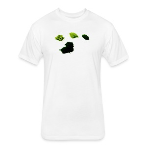 Greens - Fitted Cotton/Poly T-Shirt by Next Level