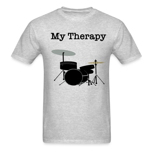 Drum Therapy T-Shirt - Men's T-Shirt