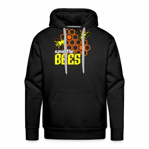 Save The Bees Men's Hoodie - Men's Premium Hoodie