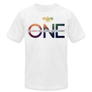 Y-EVO(^) Entertainment's Men Shirt ONE - Men - Men's Fine Jersey T-Shirt