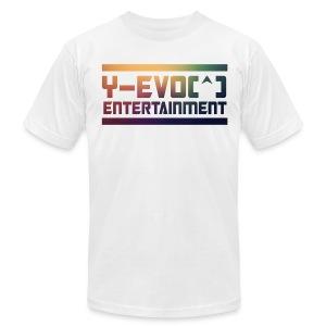 Y-EVO(^) Entertainment's Men Shirt  MAIN - MEN - Men's Fine Jersey T-Shirt