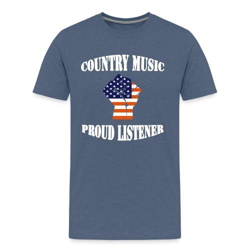 Country Music T-Shirt - Men's Premium T-Shirt