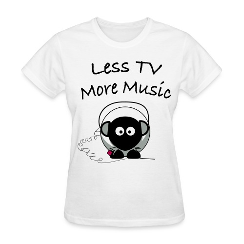 More Music T-Shirt - Women's T-Shirt
