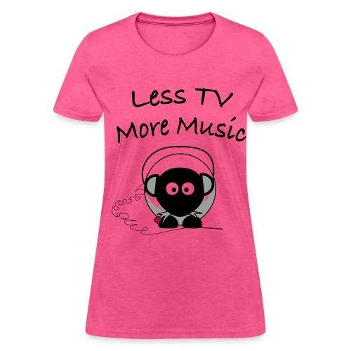 More Music T-Shirt - Women's T-Shirt