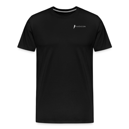 Gentleman's Ravencoin II white - Men's Premium T-Shirt