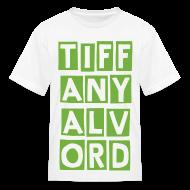 Kids' Shirts ~ Kids' T-Shirt ~ TIF-ANY-ALV-ORD LIME