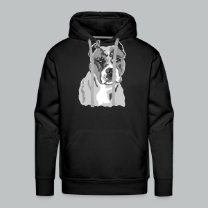 Blue Nose Pitbull  - Men's Premium Hoodie