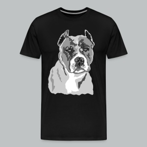 Blue Nose Pitbull - Men's - Men's Premium T-Shirt