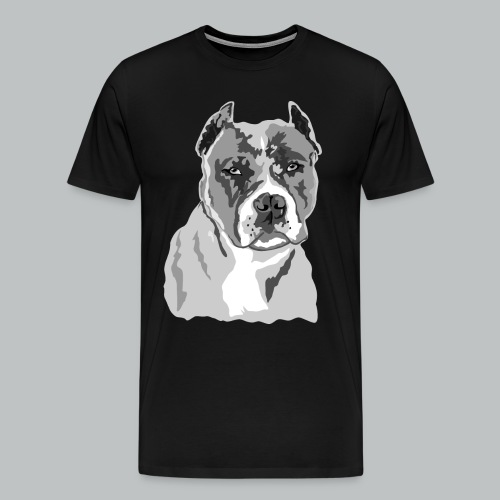 Blue Nose Pitbull - Men's - Men's Premium T-Shirt