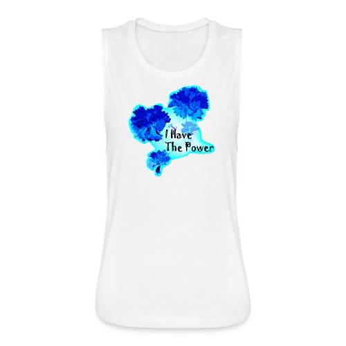 Women's flowy muscle tank by Bella - Women's Flowy Muscle Tank by Bella