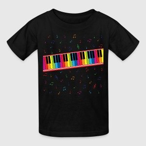 Colorful Piano - Kids' T-Shirt