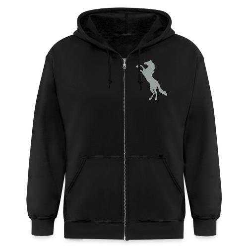 Mens Zip-up hoodie - Men's Zip Hoodie