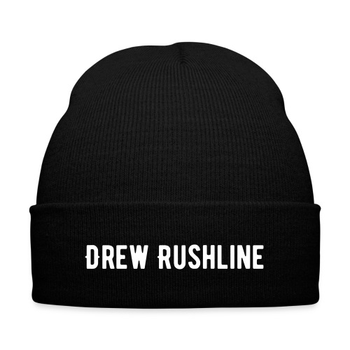 Drew Rushline Beanie - Knit Cap with Cuff Print