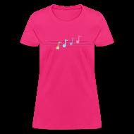 Women's T-Shirts ~ Women's T-Shirt ~ Happy Note Women's Fit