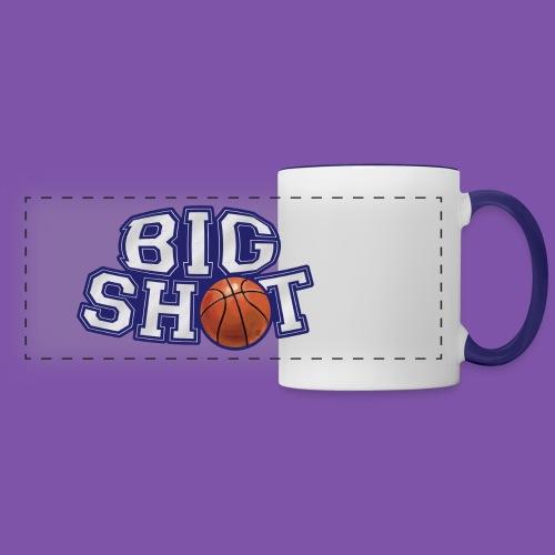 Big Shot Basketball Hot Drink Mug - Panoramic Mug