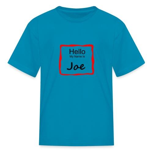 Kids T-Shirt for the Little Joe - Kids' T-Shirt
