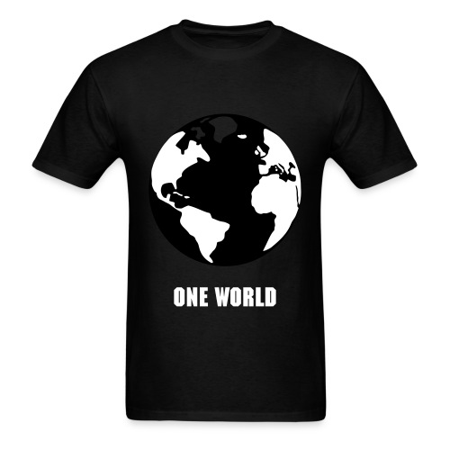 One World T-shirt - Men's T-Shirt