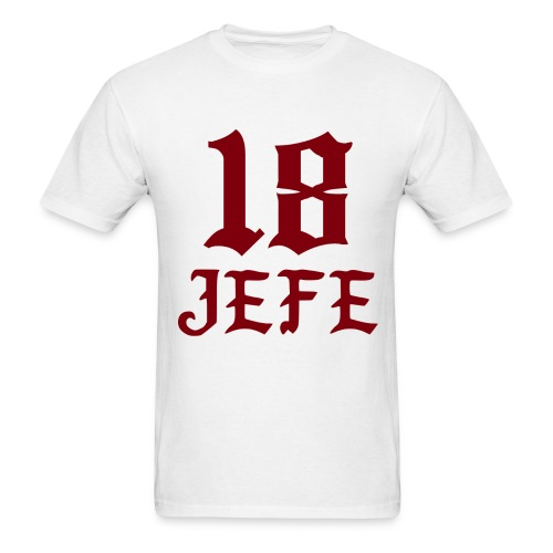 Big Jefe - White - Men's T-Shirt