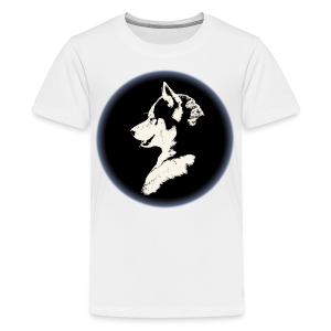 Husky Puppy T-shirts - Men's  - Kids' Premium T-Shirt