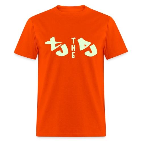TJ THE DJ (Glow In the Dark)  - Men's T-Shirt