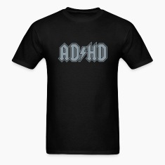 ADHD AC/DC Rock Band Logo