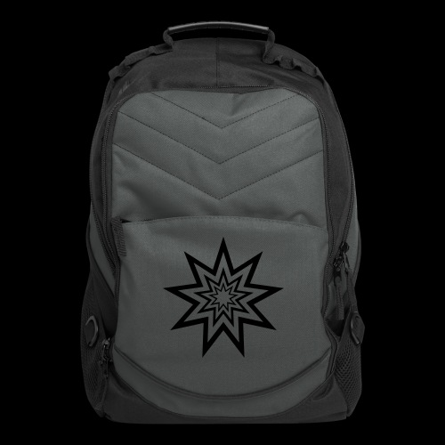 Nonagram Laptop Backpack by CyberSpaceVIP - Computer Backpack