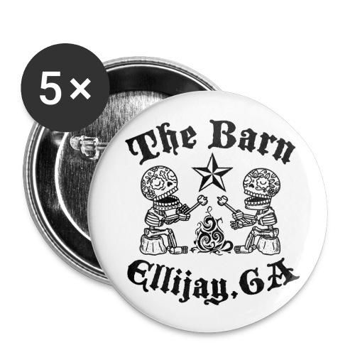 Barn Logo Buttons - Small Buttons