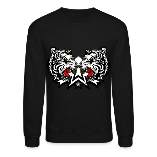 Crewneck Sweatshirt - Sweater Sweatshirt Kanye Yolo Hipster Swag Raw Blue Urban Sweatpant jogginghose Tanzen Hip hop Tanz Hose Pant Baggy Chill