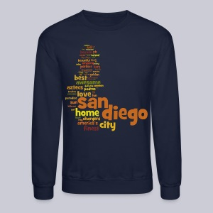San Diego Words - Crewneck Sweatshirt