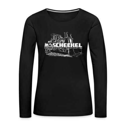 JJ Scheckel Dozer Women's Long Sleeve T - Women's Premium Long Sleeve T-Shirt