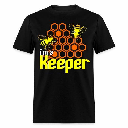 I'm A Keeper Beekeeper Men's T-Shirt - Men's T-Shirt