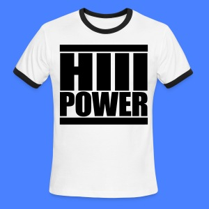HiiiPOWER T-Shirts - stayflyclothing.com - Men's Ringer T-Shirt