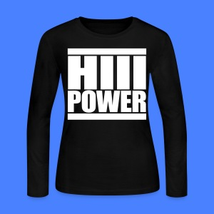HiiiPOWER Long Sleeve Shirts - stayflyclothing.com - Women's Long Sleeve Jersey T-Shirt