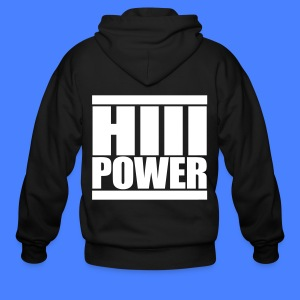 HiiiPOWER Zip Hoodies/Jacket - stayflyclothing.com - Men's Zip Hoodie
