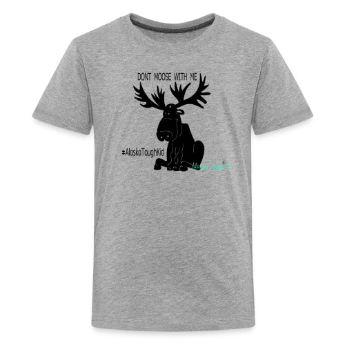 Cute Dont Moose With Me Shirt for Kids - Kids' Premium T-Shirt