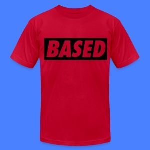 Based T-Shirts - stayflyclothing.com - Men's T-Shirt by American Apparel
