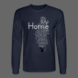 My Home - Men's Long Sleeve T-Shirt
