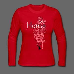 My Home - Women's Long Sleeve Jersey T-Shirt