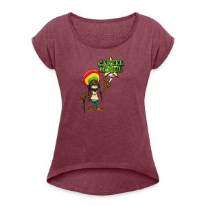 Cartel Mogul Women's Roll Cuff T-Shirt - Women's Roll Cuff T-Shirt