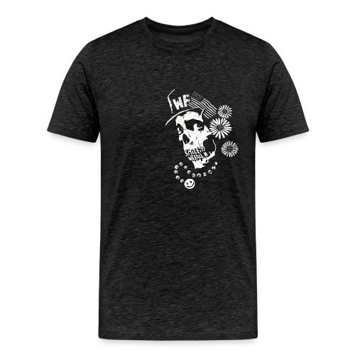 Flower Skull - Men's Premium T-Shirt
