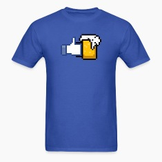 FACEBOOK LIKE BEER T-Shirts