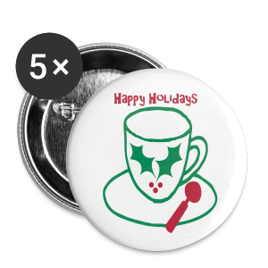 Holiday Cheer - Small Buttons